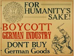 boycott german