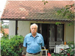 Peter Klepsch at his home in East Germany.