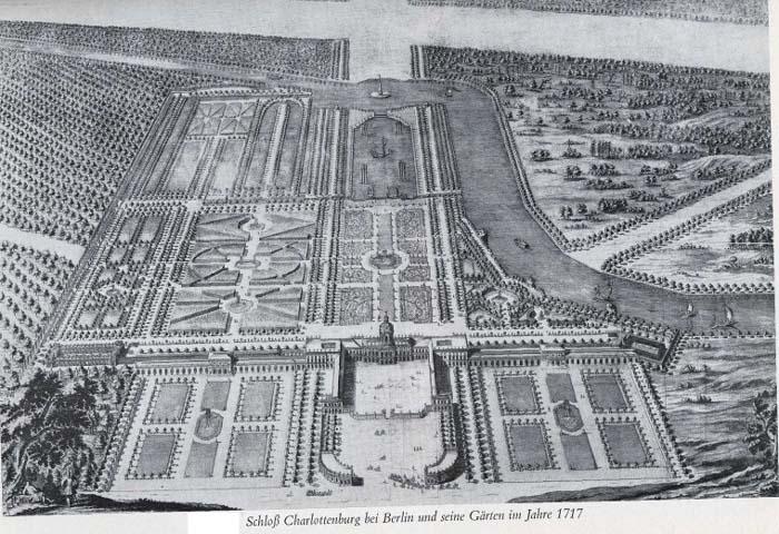 1 Charlottenburg in 1717