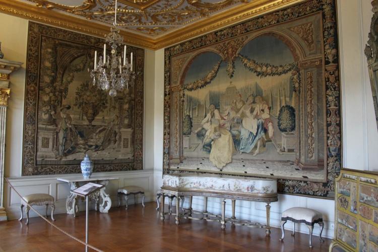 Inside Schloss Charlottenburg