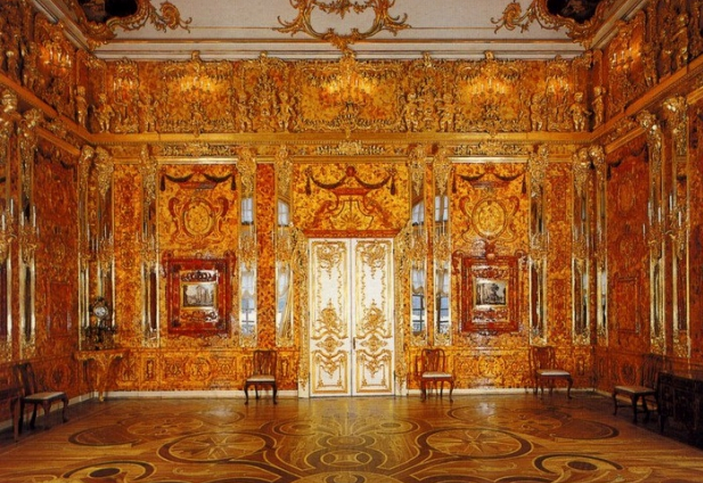 The 'Amber' room