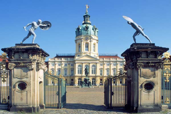 Gate entrance to Schloss Charlottenburg