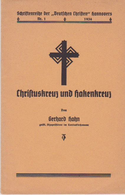 The cover of Christuskreuz and the Hakenkreuz