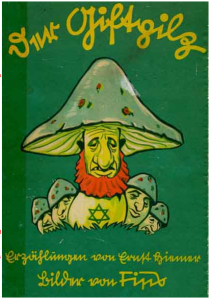 cover pic of book the poisonous mushroom