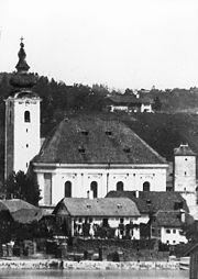 Sankt Nikola Kirche Oberndorf. (St. Nicholas Church)