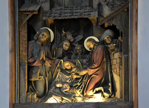 The alter in Stille-Nacht-Kapelle