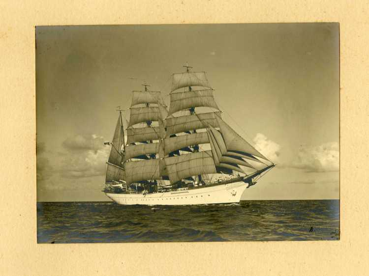 Kreigsmarine Training Vessel Horst Wessel May 1938