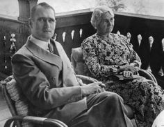 Rudolf Hess and his mother