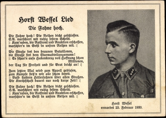 Horst Vessel Lied