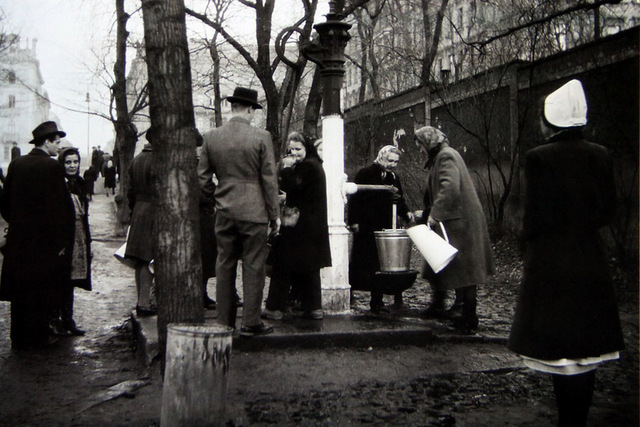 After the February raid many Locals pay for water to municipal pumps
