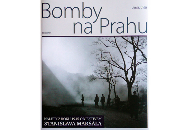 Stanislav Maršál's book containing pretty much the only photos taken of the horrific 'accidental' bombing of Prague.