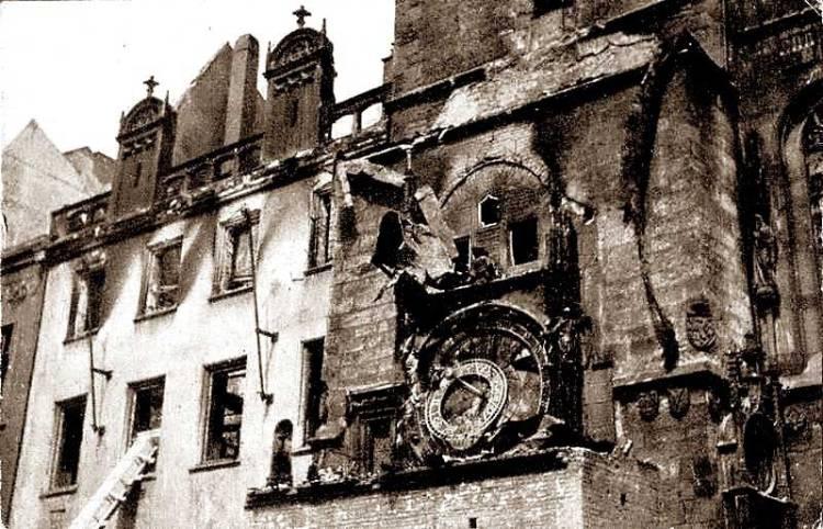 prague bombing 1945