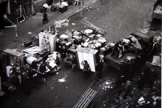 The now homeless residents of Gorazdova Street