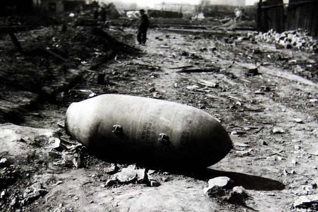 Unexploded American puma 250 kg bomb