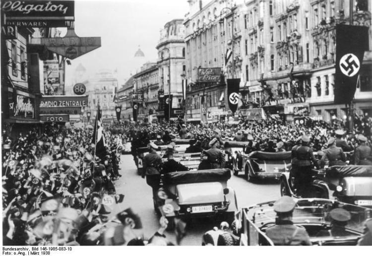 Anschluss, Österreich, Wien 12 March 1938