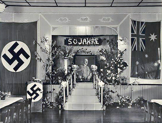 Celebration of Hitler's 50th birthday in a German club in Australia!