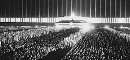 Cathedral of Light by Albert Speer