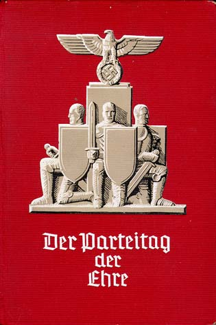 Front cover of Der Parteitag der Ehre (The Party Rally of Honor)