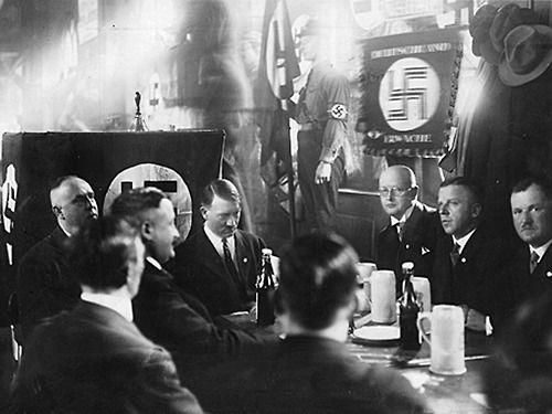 Franz Schwarx, Julius Schaub, Famous Speech, Adolf Hitler, Christian Weber, Jakob Grimminger, Karl Fiehler, Gregor Strasser, Max Amann
